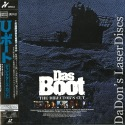 Das Boot AC-3 UNCUT Widescreen NEW Rare Japan LaserDisc Drama
