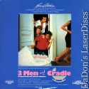 3 Men and a Cradle Rare LaserDisc Comedy *CLEARANCE*