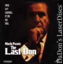 The Last Don Rare LaserDisc Puzo Aiello Mantegna