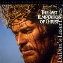 The Last Temptation of Christ WS Criterion #352 Rare LaserDisc Drama