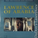 Lawrence of Arabia DSS WS Criterion #78A NEW LaserDisc O'Toole Drama