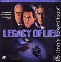 Legacy of Lies LaserDisc NEW Landau Ontkean Wallach Thriller