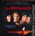 Les Miserables 1998 AC-3 WS LaserDisc Neeson Thurman Drama