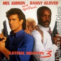 Lethal Weapon 3 DSS WS LaserDisc Gibson Glover Pesci Action