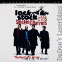 Lock, Stock and Two Smoking Barrels AC-3 WS Rare LaserDisc Gangster