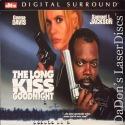 The Long Kiss Goodnight DTS WS Rare LaserDisc Davis Jackson Action