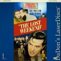 The Lost Weekend Rare Encore LaserDisc Ray Milland Drama