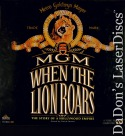 MGM When the Lion Roars WS Rare NEW LaserDiscs Box Set