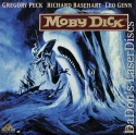 Moby Dick Rare Remastered LaserDisc Peck Basehart Action *CLEARANCE*
