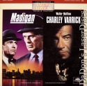 Madigan / Charley Varrick Widescreen NEW Encore LaserDisc Double Drama