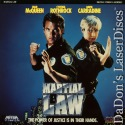Martial Law Rare LaserDisc Cynthia Rothrock David Carradine Action *CLEARANCE*