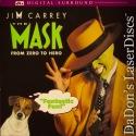 The Mask DTS THX WS LaserDisc Rare LD Carrey Diaz Comedy