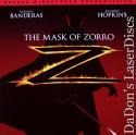 The Mask of Zorro LaserDisc AC-3 WS NEW Banderas Hopkin Action