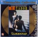 Matador WS CinemaDisc LaserDisc Almodovar Banderas Drama Foreign