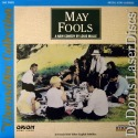 May Fools Rare NEW CinemaDisc LaserDisc Piccoli Miou-Miou Drama Foreign