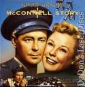 The McConnell Story Widescreen Rare NEW LaserDisc Alan Ladd Drama
