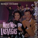 Meet Me In Las Vegas Widescreen Rare LaserDisc