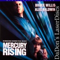 Mercury Rising AC-3 THX WS Rare NEW LaserDisc Willis Baldwin Thriller