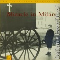 Miracle in Milan Rare LaserDisc Criterion #83 Golisano Foreign Drama
