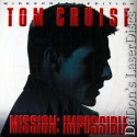 Mission Impossible AC-3 THX WS LaserDisc Cruise Voight Spy Thriller