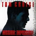 Mission Impossible AC-3 THX WS LaserDisc Cruise Voight Spy Thriller