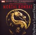 Mortal Kombat DTS WS LaserDisc Ashby Lambert Tagawa Action