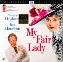 My Fair Lady AC-3 THX WS LaserDisc Hepburn Harrison Musical