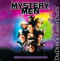 Mystery Men AC-3 WS Rare NEW LaserDisc Stiller Rush Comedy
