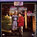 Naughty Nineties 1945 Encore LaserDisc Abbott Costello