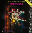 Netherworld LaserDisc Rare Full Moon Cult LD Horror *CLEARANCE*