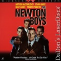 The Newton Boys AC-3 WS LaserDisc NEW McConaughey Hawke Crime Drama