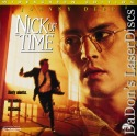 Nick of Time AC-3 WS Rare LaserDisc Depp Walken Action *CLEARANCE*