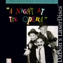 A Night At The Opera CAV Criterion #31 LaserDisc Marx Brothers Comedy