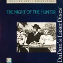 The Night of the Hunter Criterion Collection #28 Rare LaserDisc Thriller