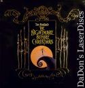 The Nightmare Before Christmas WS LaserDisc Box Set Animation