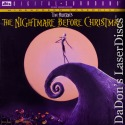 The Nightmare Before Christmas DTS WS Rare LaserDisc