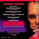 Nixon AC-3 WS LaserDisc Box Set Hopkins Boothe Harris Biography Drama