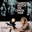The Omega Man WS LaserDisc Rare LD Heston Cash Sci-Fi