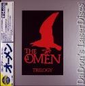 The Omen Trilogy WS Rare LaserDisc Japan Only Box Peck