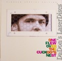 One Flew Over The Cuckoo's Nest DSS THX WS PSE LaserDisc Book Drama