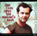 One Flew Over the Cuckoo's Nest PSE WS LaserDisc Nicholson