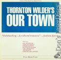 Thornton Wilder's Our Town NEW Rare LaserDisc Beatty Drama