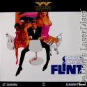 Our Man Flint Widescreen Rare Spy LaserDisc Coburn Cobb Golan Mulhare Action