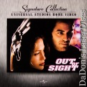 Out of Sight AC-3 WS Signature Collection Rare NEW LaserDisc Drama