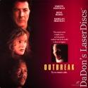 Outbreak AC-3 WS Rare LaserDisc Hoffman Russo Freeman Thriller