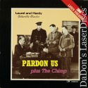Pardon Us / The Chimp Rare LaserDisc Laurel Hardy Comedy