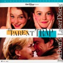 The Parent Trap AC-3 WS NEW LaserDisc Lohan Quaid Richardson Family