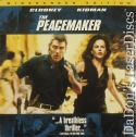 The Peacemaker AC-3 WS NEW LaserDisc Clooney Kidman Action *CLEARANCE*