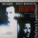 Philadelphia DSS WS NEW Rare LaserDisc Washington Hanks Courtroom Drama