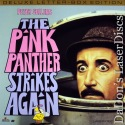 The Pink Panther Strikes Again Widescreen Sellers LaserDisc Comedy